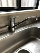 キッチン水栓取替