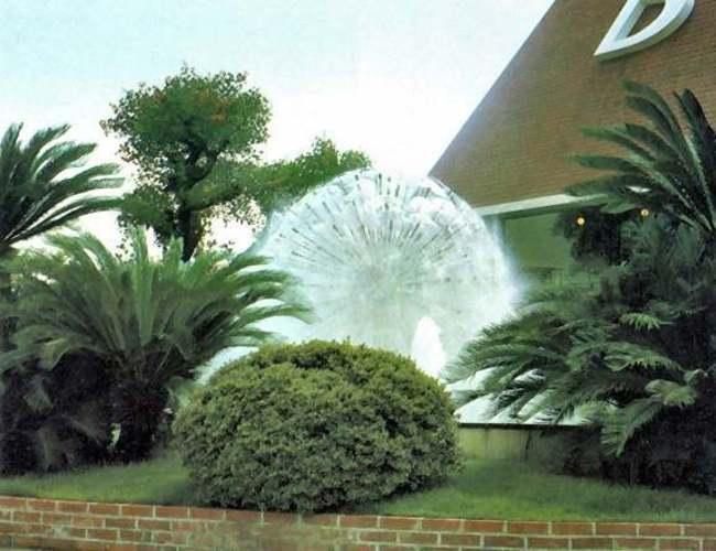 孔雀型噴水