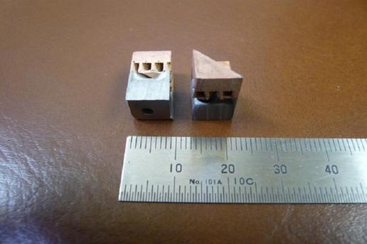 電子部品(アルミ&銅の複合材)1