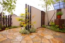 洋風スタイル お庭リフォーム 岡山市