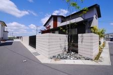 大きな壁を素敵に演出する S−800の素敵な壁 倉敷市外構