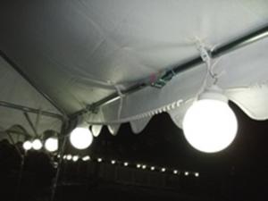 テント用 6連ライト