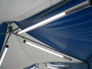 テント用蛍光灯