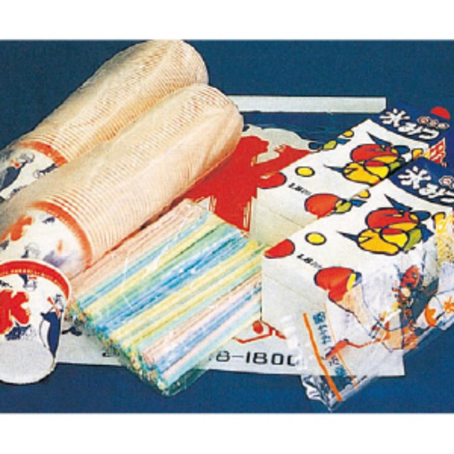 【販売商品】かき氷100食セット(メロン・イチゴ) 1