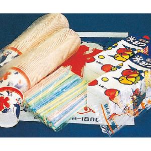 【販売商品】かき氷100食セット(メロン・イチゴ)