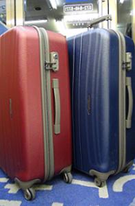 TSA付ファスナー式 スーツケース 「プロテカ NEW フラクティ」 中