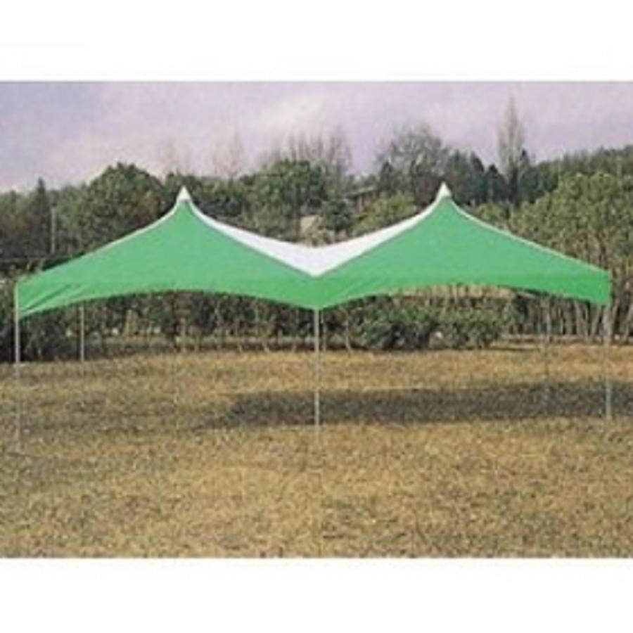 イベントテント2K×4K (緑/白)1