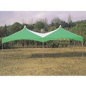 イベントテント2K×4K (緑/白)