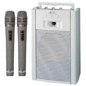 ワイヤレスアンプカセット内蔵 (WA-1802C)