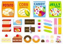 【短期&W3~ok】スナック菓子の仕分け1