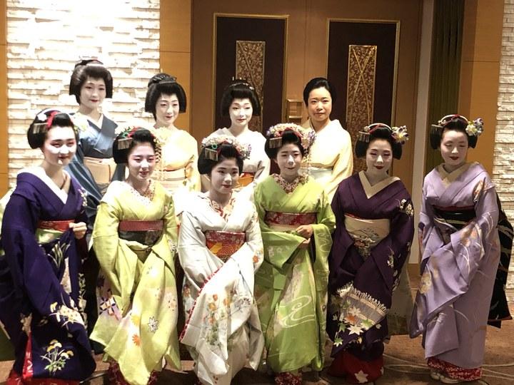 「京の宴」で優雅なひととき