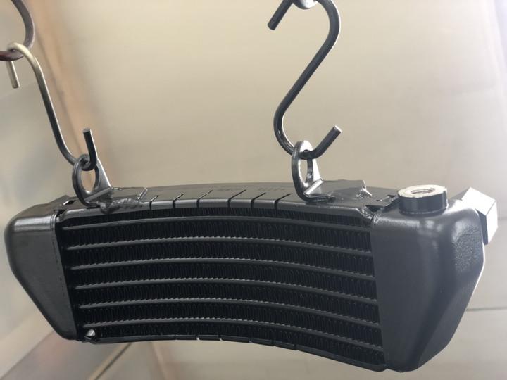 KTM オイルクーラー ブラック半艶        参考価格¥18000~