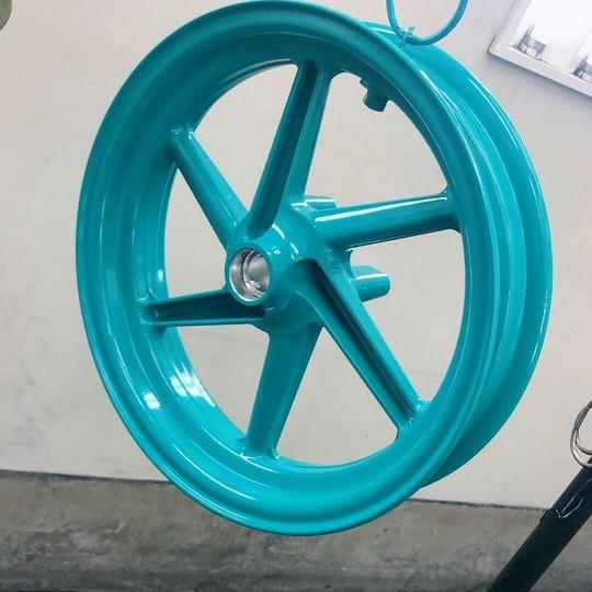 NSR50 ホイール               ターコイズブルー(1coat)  参考価格¥12000~/1本
