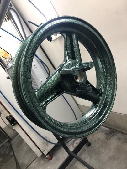 NSR50 ホイール バンプグリーン(1coat)   参考価格¥12000~