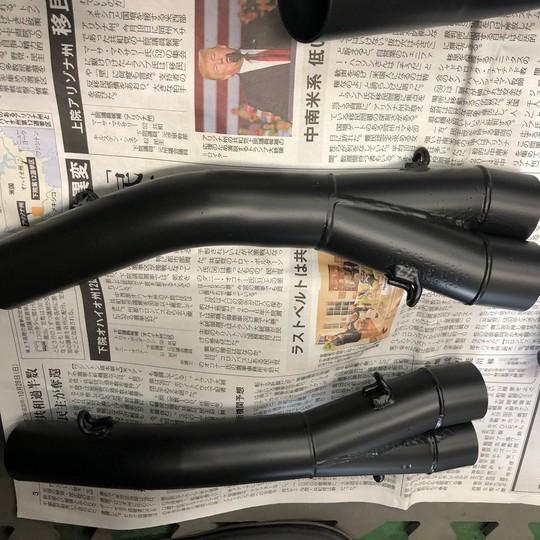 VF500 マフラー グレーシャブラック  参考価格¥48000~