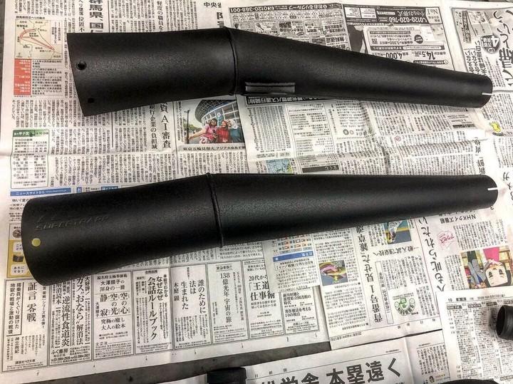 Harley-Davidson マフラー              アイスブラック           参考価格¥52000~