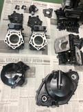 RGVガンマ エンジン一式     サテンブラック           参考価格¥100000~
