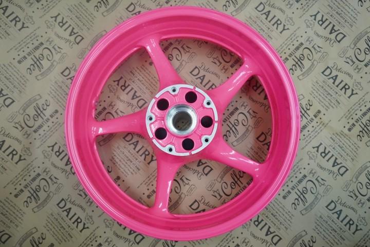 YZF-R6 ホイール 蛍光ピンク(2coat)  参考価格¥35000~