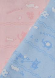 ベビー毛布     毛羽部分 綿100%ジャガード(織り柄)北欧柄2