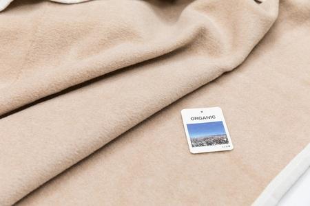 オーガニック素材のお昼寝毛布