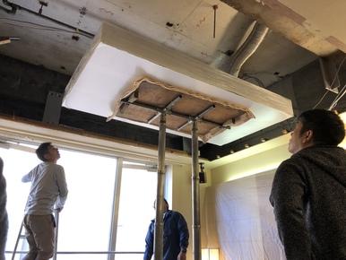 天井水槽〜