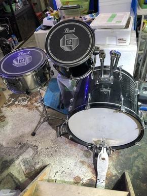 ドラム部屋。