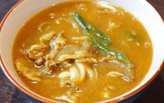 Udon con carne al curry