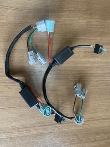 S321V S331V ハロゲン2灯から4灯へ変換するハーネス 作成可能です