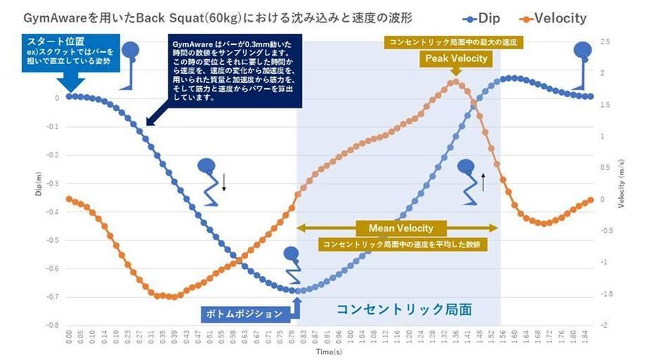 挙上速度 mean velocity peak velocityの違い S Cスポーツ科学