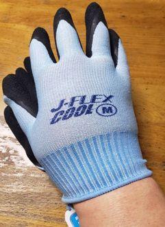 ユニワールド(UNIWORLD)5450 J-FLEX COOL天然ゴム手袋