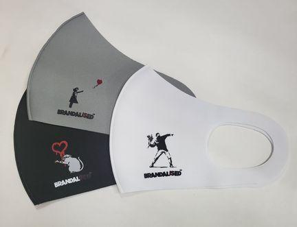BRANDALISED(ブランダライズド)Banksy 3-pack Mask