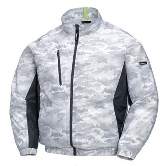 空調服迷彩 長袖ブルゾンXE98005