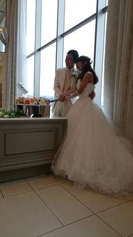 阪口さんの結婚式