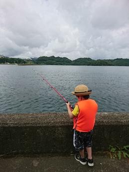 はじめての魚釣り