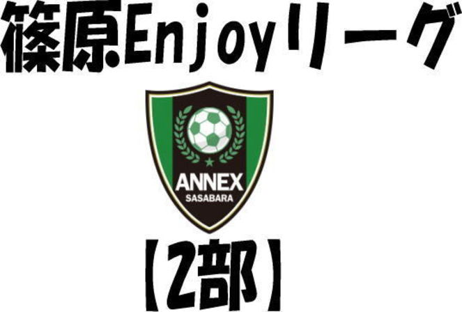 2/14(日)篠原Enjoyリーグ【2部】